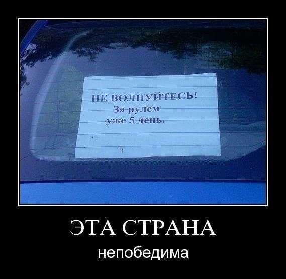 Автодемотиваторы