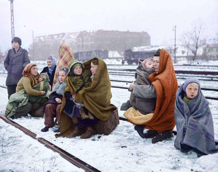 Война и мир в цвете: художница вдохнула новую жизнь в исторические фото