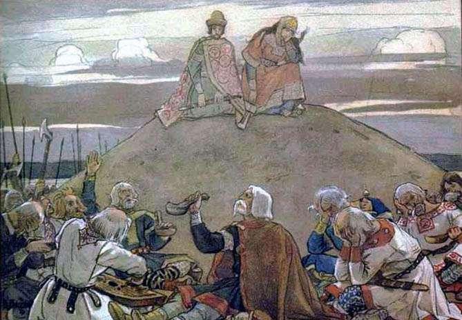 Почему православные справляют поминки на 9-ый и 40-ой дни?