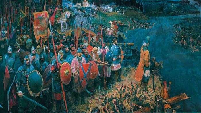 Как русские сбросили с себя монголо-татарское иго