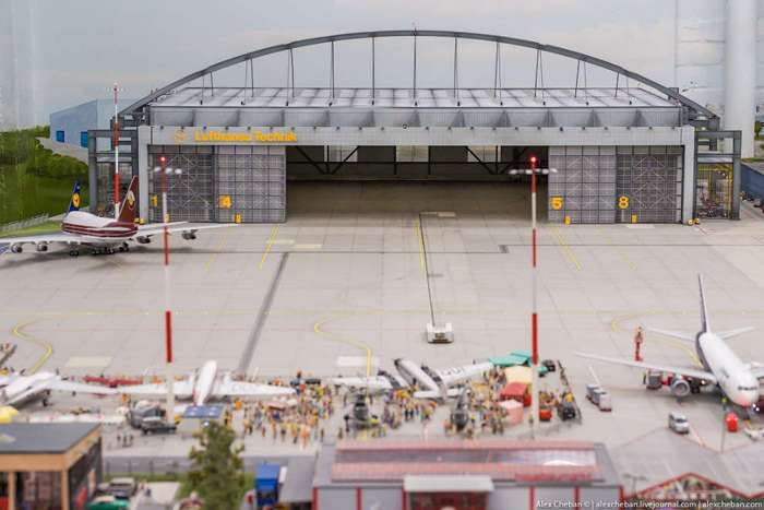 Игрушечный аэропорт Miniatur Wunderland за $4.8млн