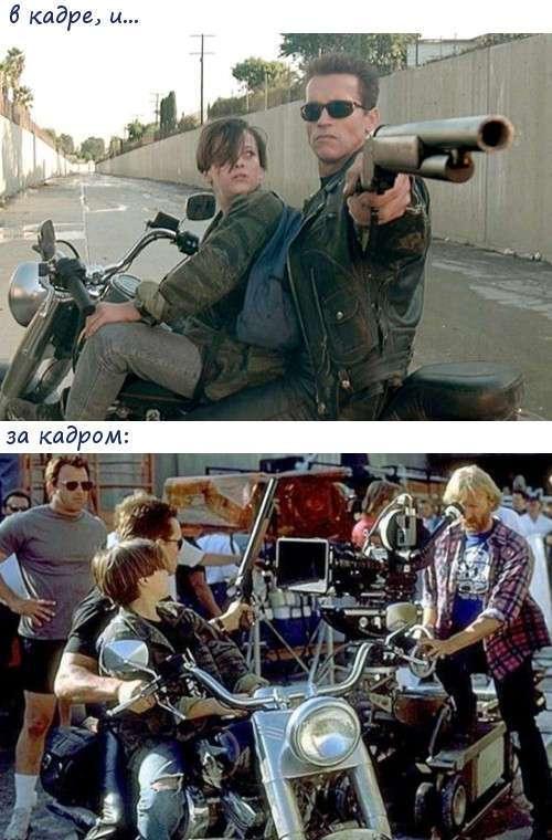 То, что осталось за кадром известных фильмов
