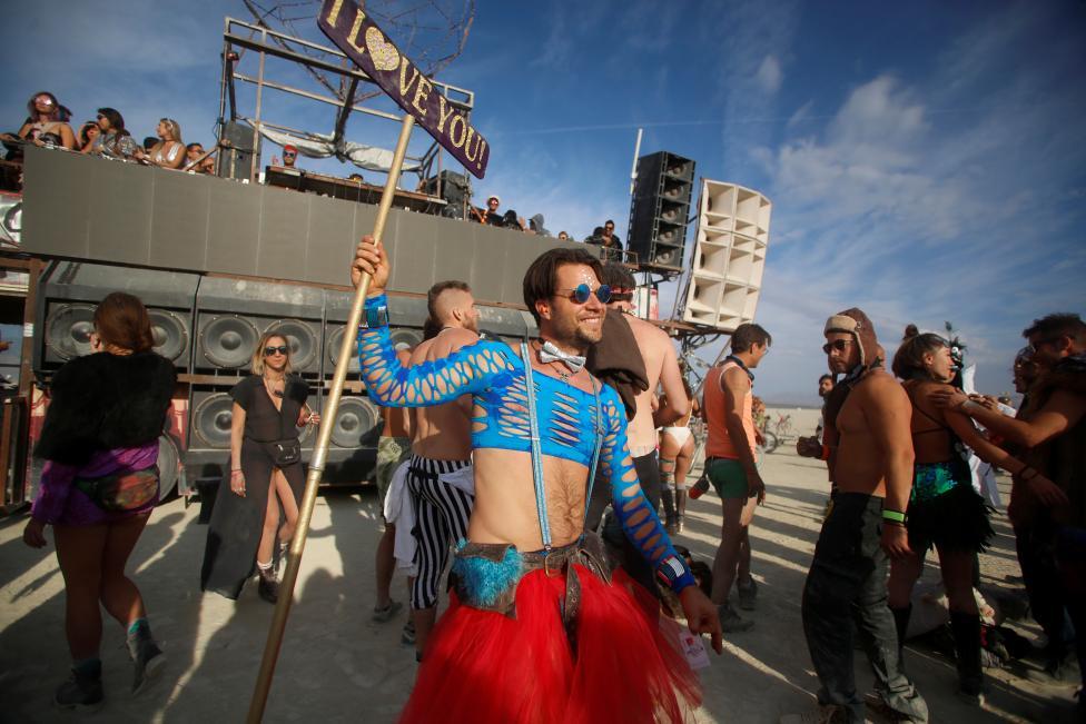 Фестиваль радикального самовыражения Burning Man 2016