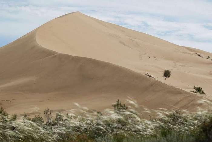 Дюна «Поющий бархан»: известнейшая достопримечательность в Казахстане