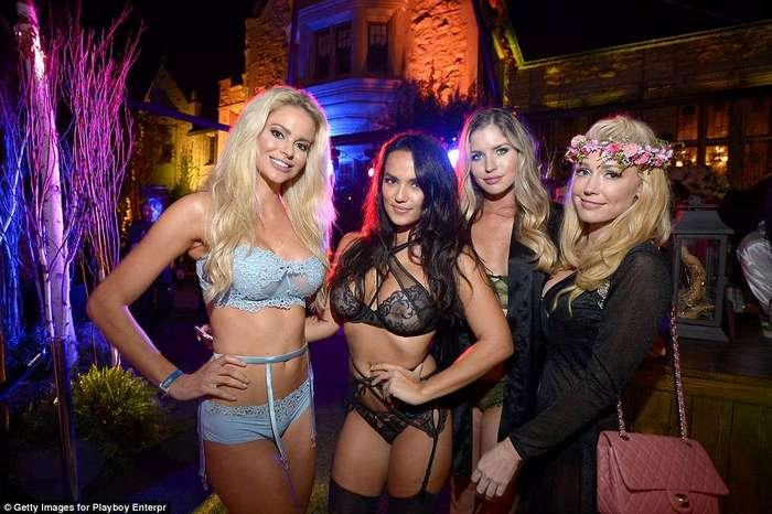 Малинник без садовника: ежегодная вечеринка в особняке Playboy прошла без Хью Хефнера