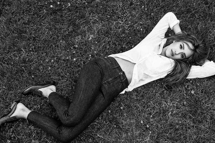 Джессика Альба для DL1961 Fall 2016 Campaign