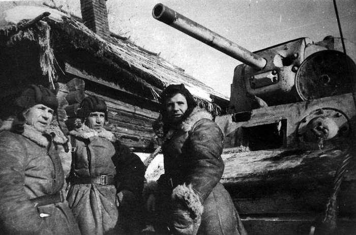 ОДИН Т-34 ПРОТИВ 12