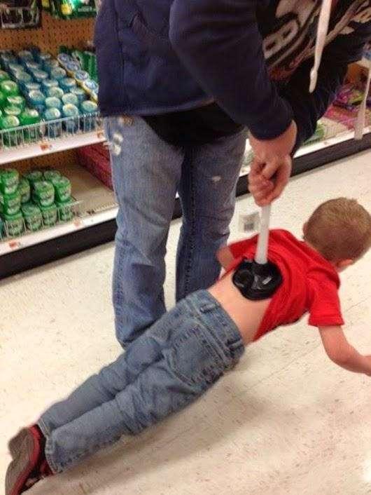 Трудное детство: развлекаются как могут!