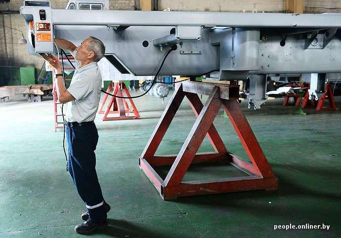 Как делают тягачи для баллистических ракет