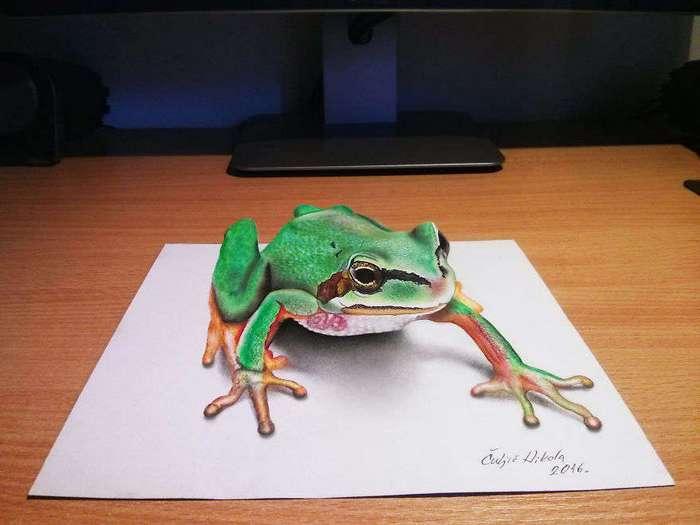 Невероятно реалистичные 3D рисунки