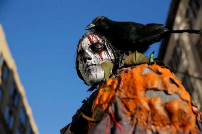 Как отметили Хэллоуин в разных странах мира