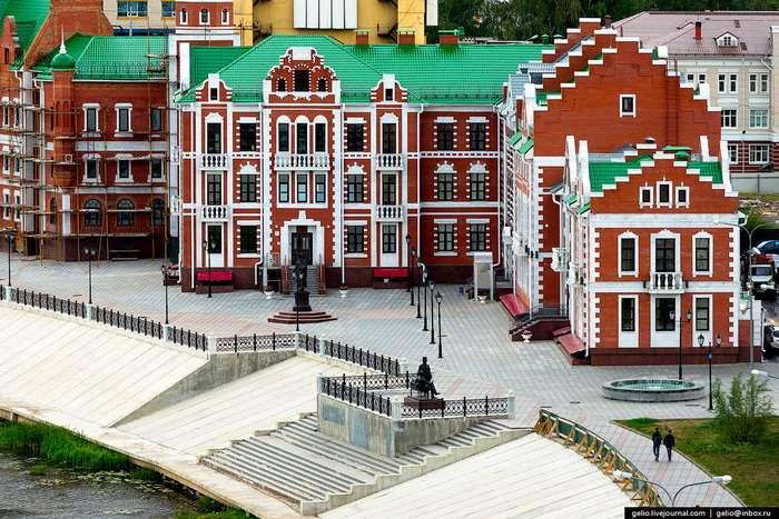 Йошкар-Ола. Единственный город на букву «Й»