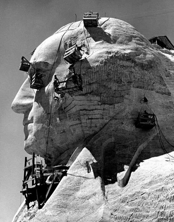 Как создавался грандиозный мемориал «Гора Рашмор» в Южной Дакоте