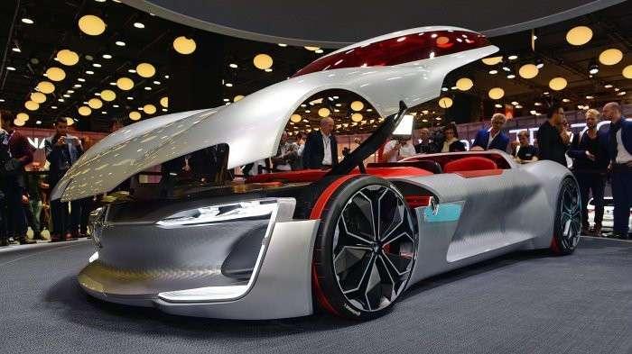 Концепт супер-электрокара Renault Trezor