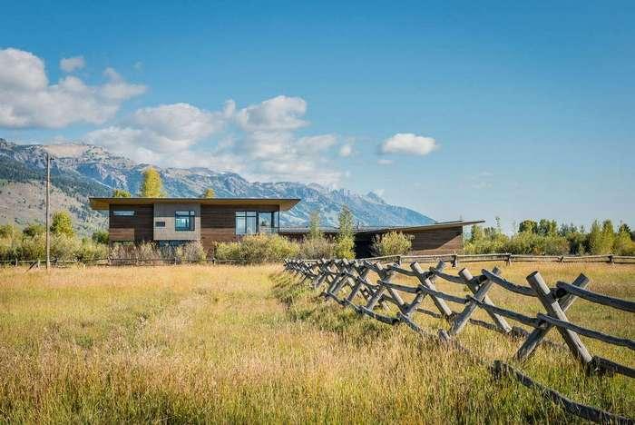Резиденция на природе в США