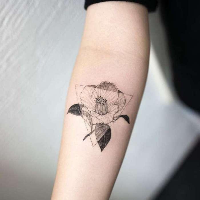 Элегантные татуировки южнокорейского мастера