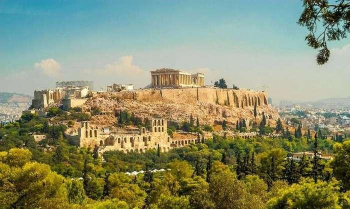Акрополь в Афинах. Колыбель цивилизации