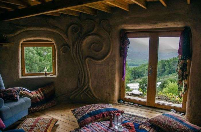 Дом из мешков: практичный, экологичный и недорогой способ строительства жилья
