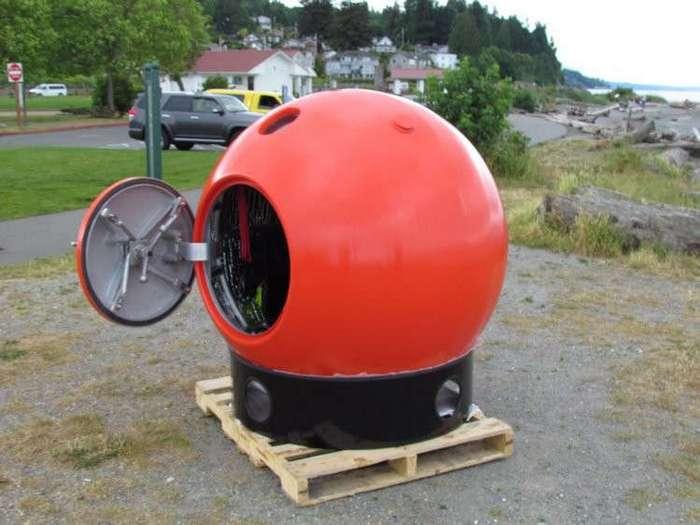 Капсула для выживания во время землетрясений, цунами и ураганов