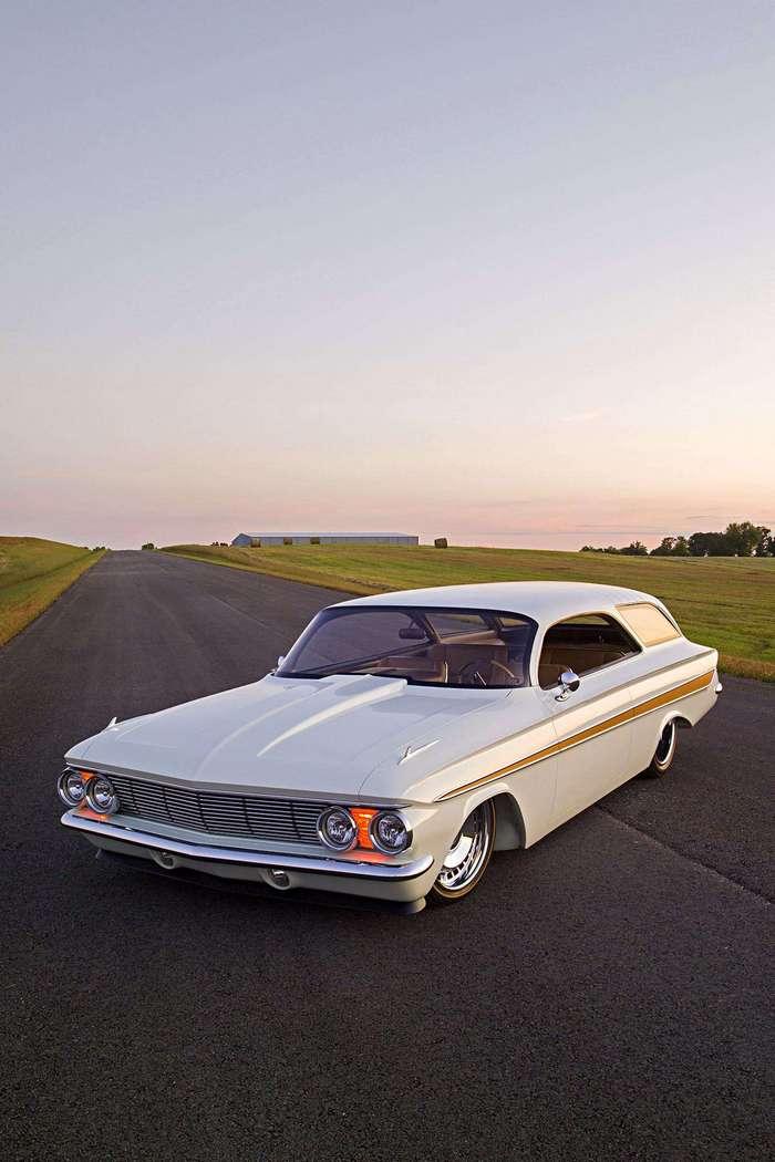 1961 Impala BubbleTop Wagon - универсал сражающий всех наповал