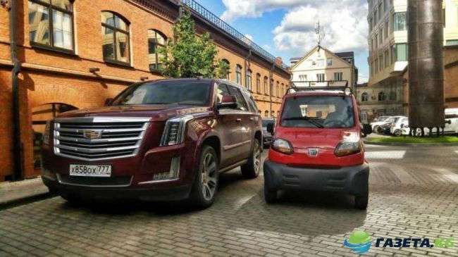 В России появился самый дешевый в мире автомобиль