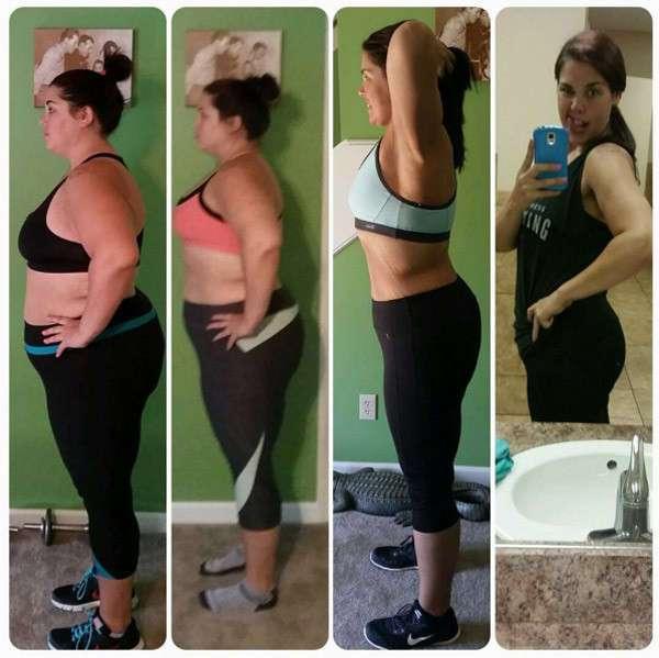 Американка похудела на 70 килограммов, испугавшись собственной фотографии