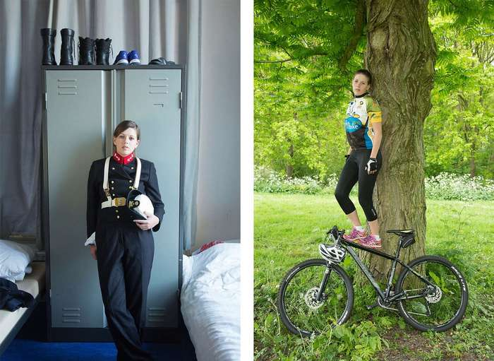 Что скрывают за униформой голландские женщины-военные