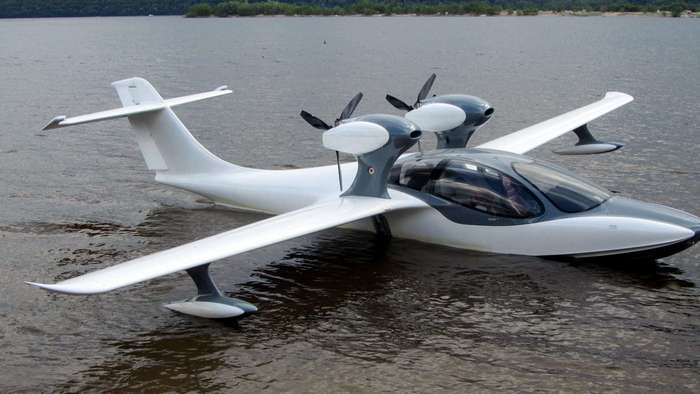 Испытания нового самарского самолета