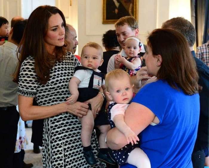 Во что одеты дети королевской семьи