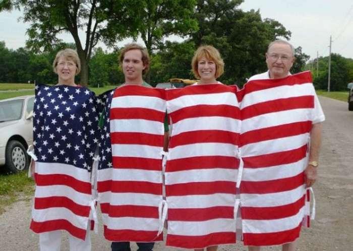 Как выглядит «ура-патриотизм» по ту сторону океана