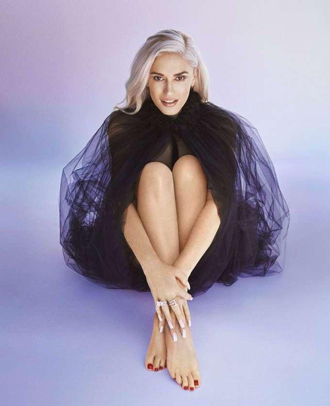 Гвен Стефани на обложке Harper's Bazaar