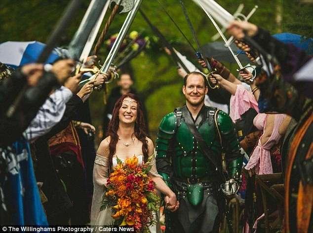 Свадебные церемонии, для которых пришлось немного заморочиться