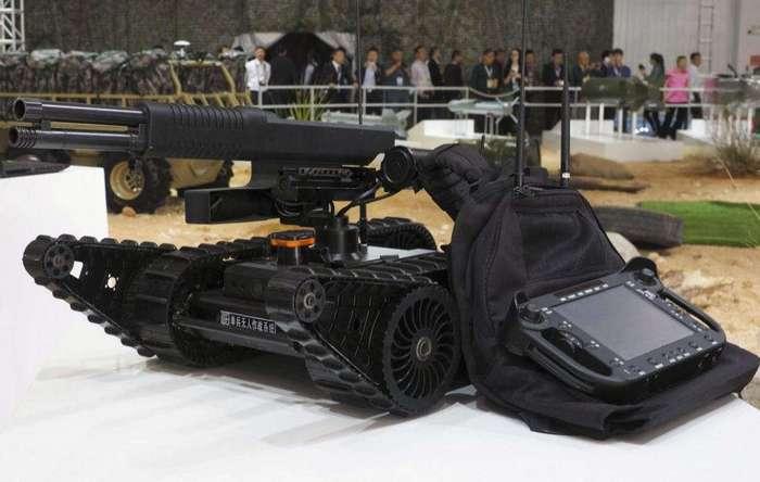 Малоразмерный боевой робот компании NORINCO