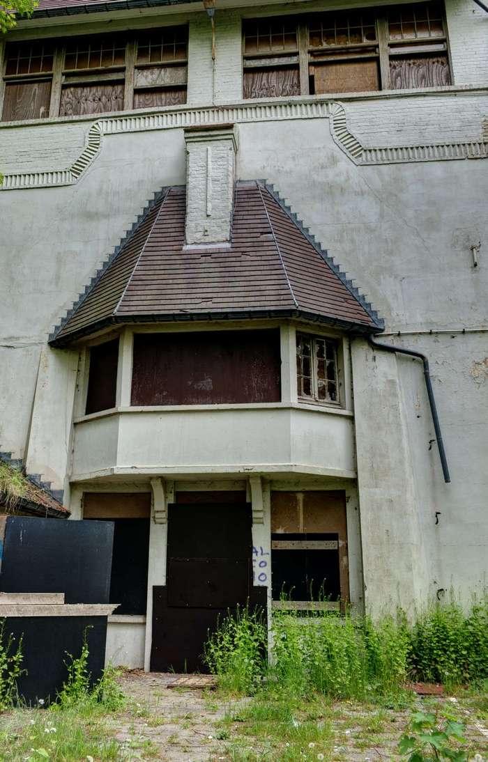 Заброшенная вилла в Бельгии