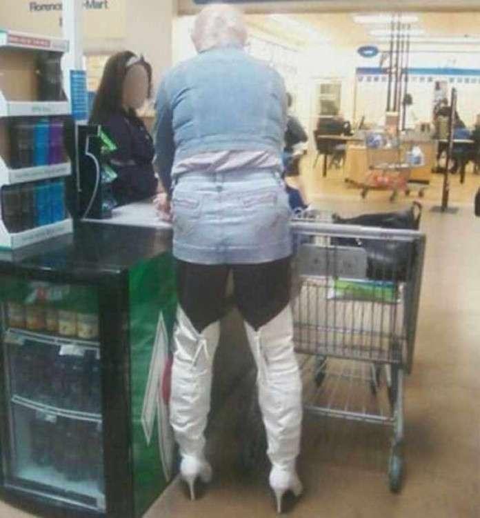 Америка, прекрати или сумасшедшие покупатели американских супермаркетов
