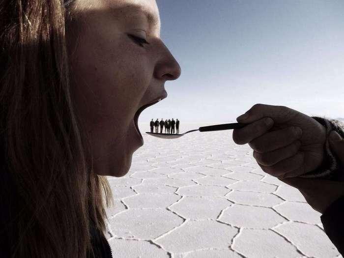 17 забавных фотографий, искажающих реальность