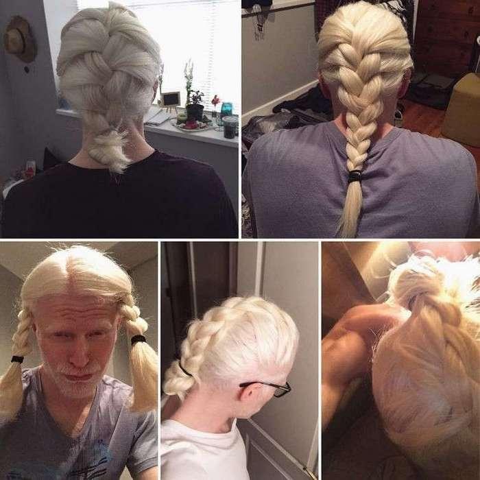 Девчонки, подвиньтесь, теперь парни тоже носят косы!
