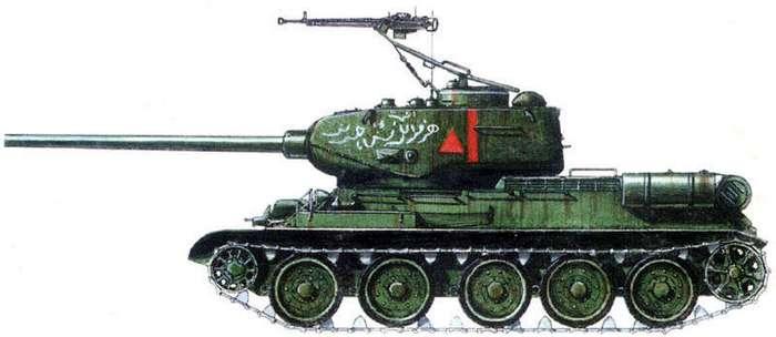 Т-34 В БОЯХ ПОСЛЕ ОКОНЧАНИЯ ВТОРОЙ МИРОВОЙ ВОЙНЫ
