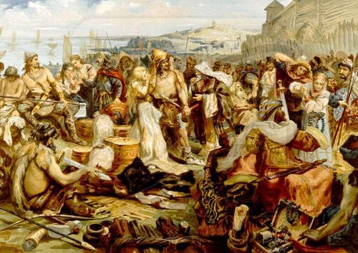 Древние славяне со слов античных греков