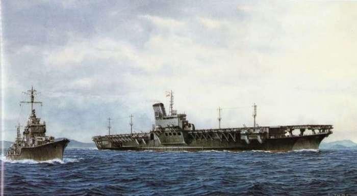 17 часов унижения: гибель самого большого японского авианосца