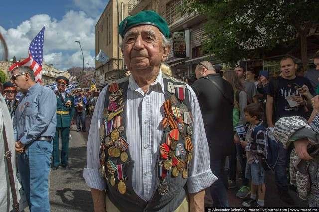 Парад Победы в Израиле