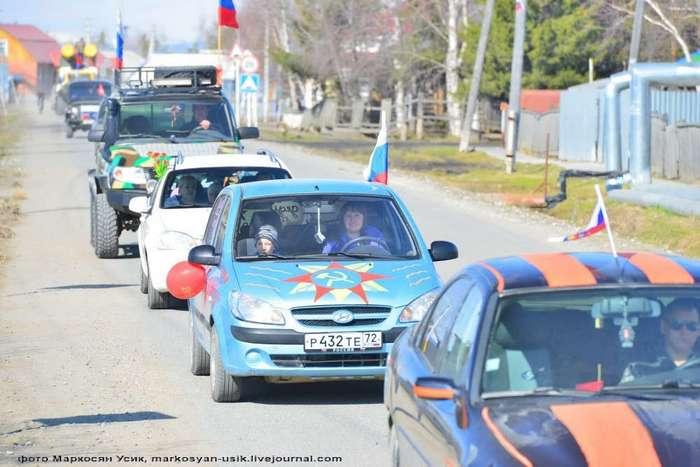 Деревенский Парад в глубинке России и выводы