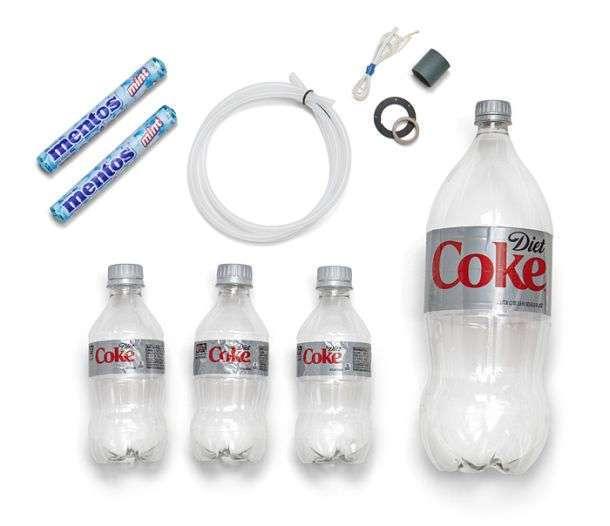 Комплект для запуска ракеты из Кока-Колы
