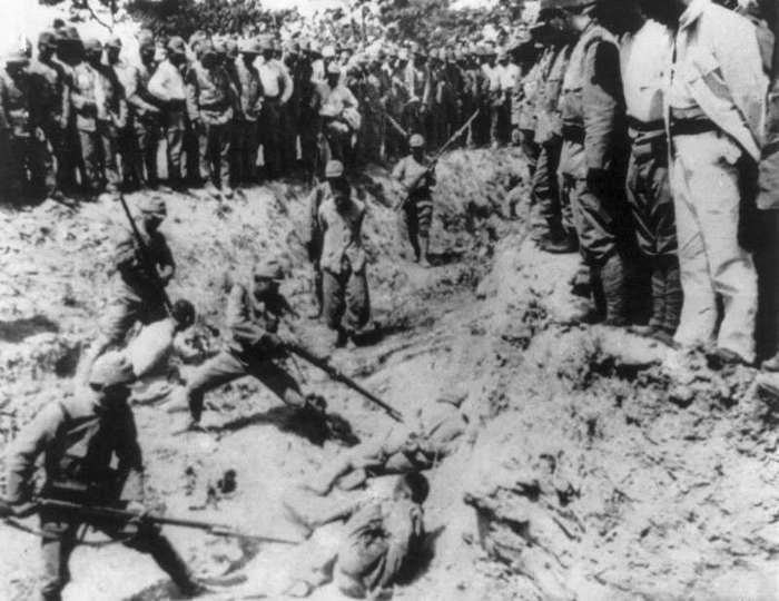 Зверства японских фашистов