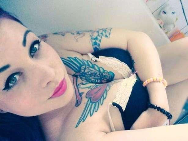 Подборка красивых татуировок на женских телах,