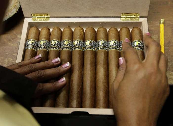 Как делают любимые сигары Фиделя Кастро