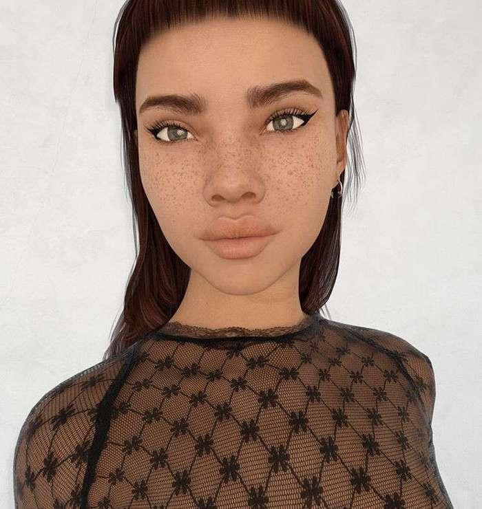 Instagram разгадывает тайну девушки, которая выглядит как персонаж игры