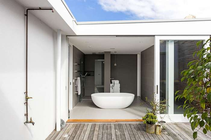 Двухуровневые апартаменты в пригороде Сиднея