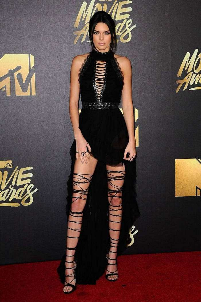 Кендалл Дженнер на MTV Movie Awards 2016
