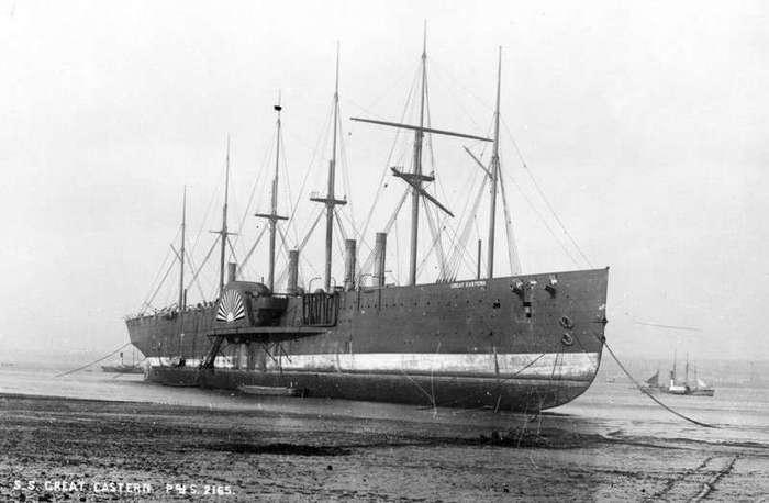 Странная и жуткая история парохода «Great Eastern»